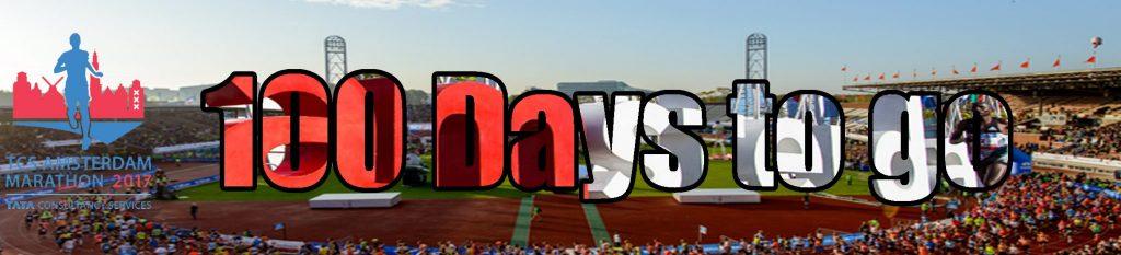100 days to go…