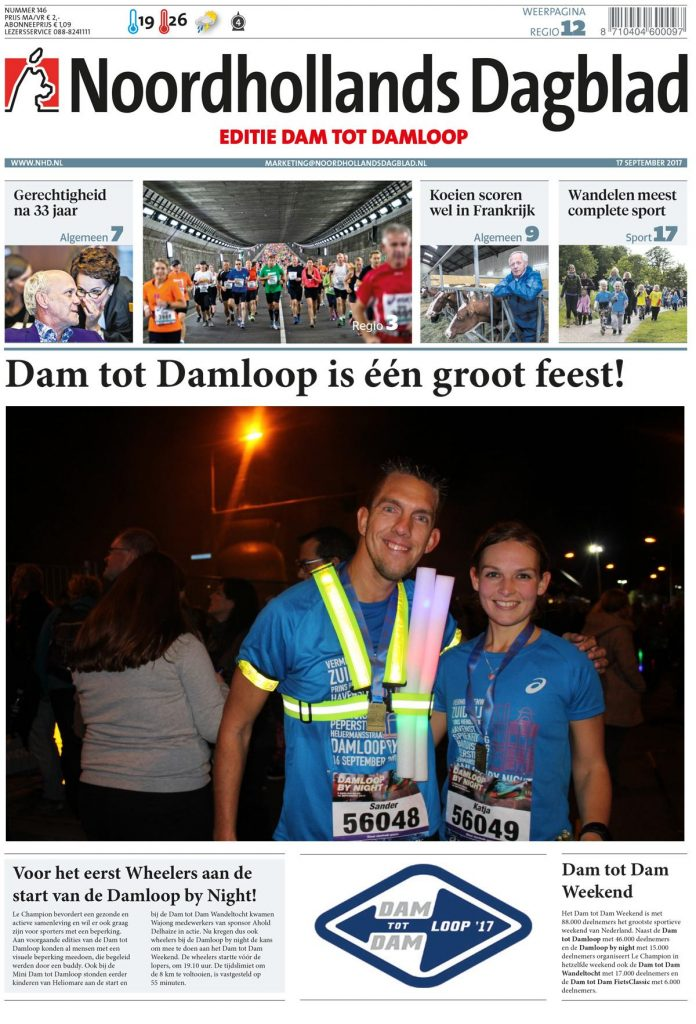 Dam tot Dam loop weekend
