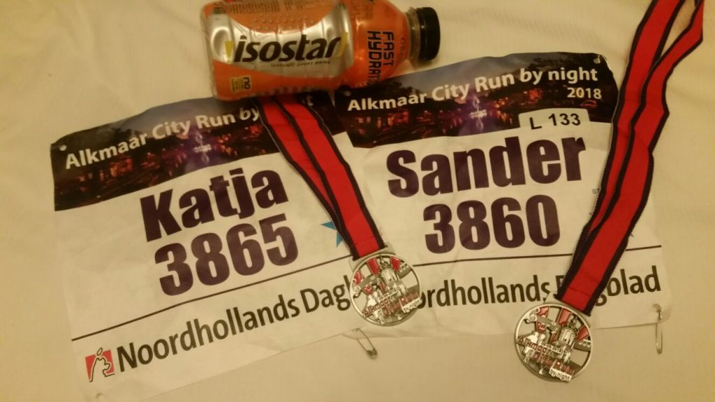 Alkmaar City run by night 2018