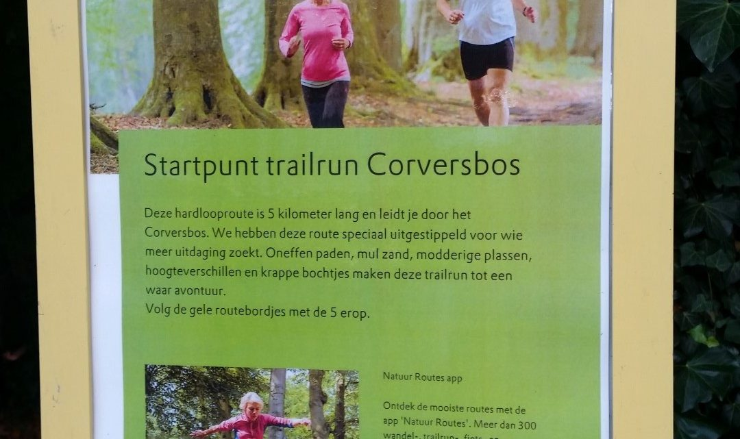 Opening Trail run Corversbos