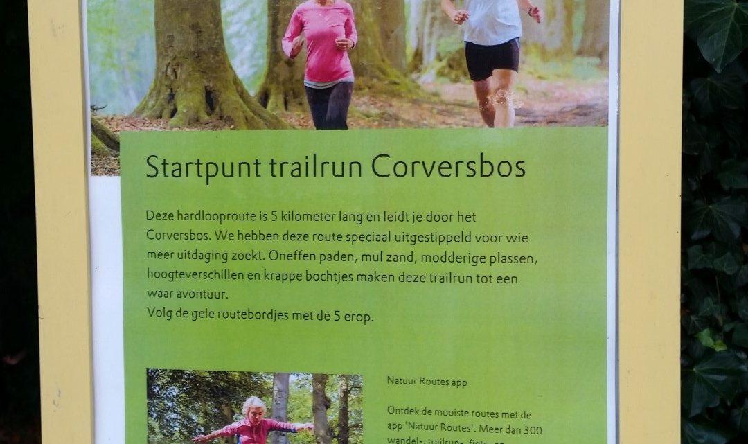 Opening Trail run Corversbos