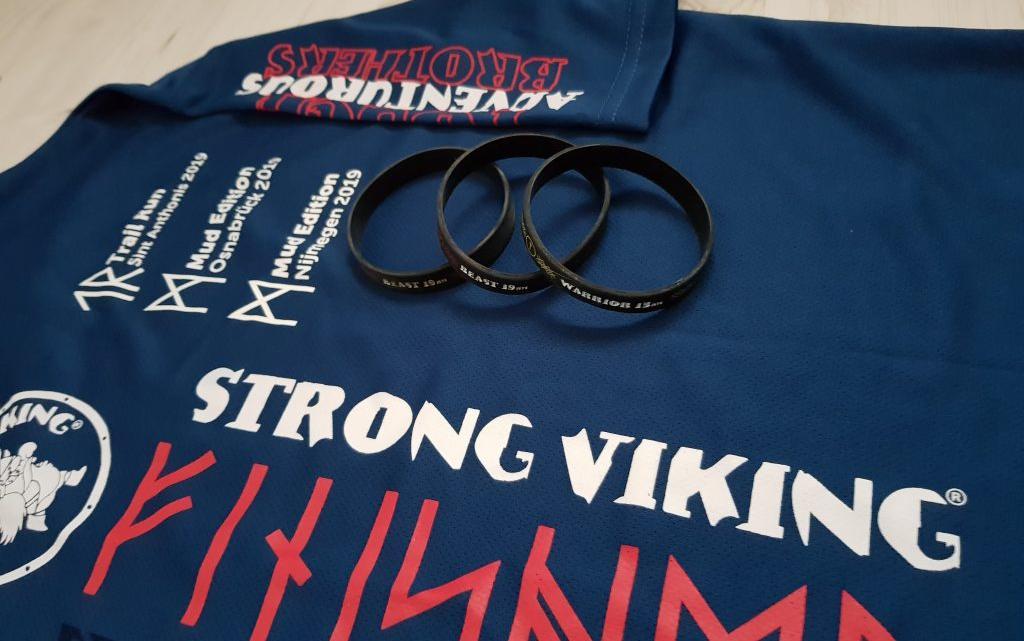 Strong Viking run 3/10 (Mud run 13km)