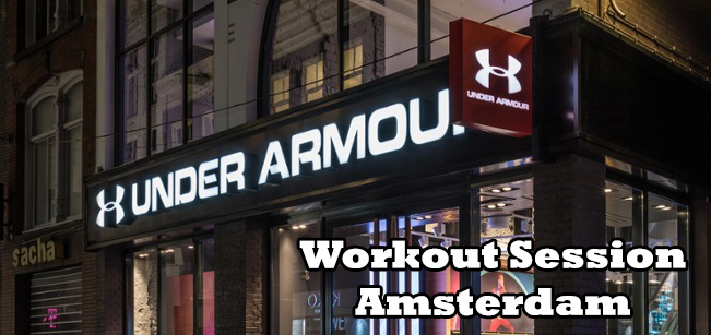 Under Armour Amsterdam Workout Session