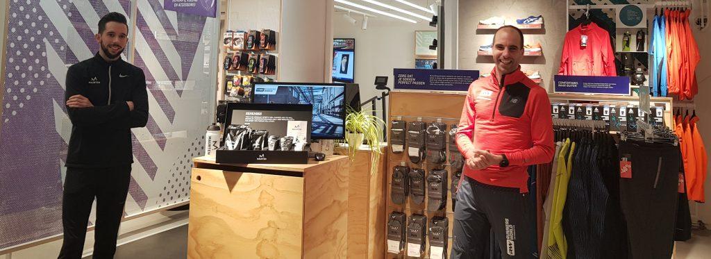 Maurten voedings Clinic bij Runnersworld Amsterdamse bos